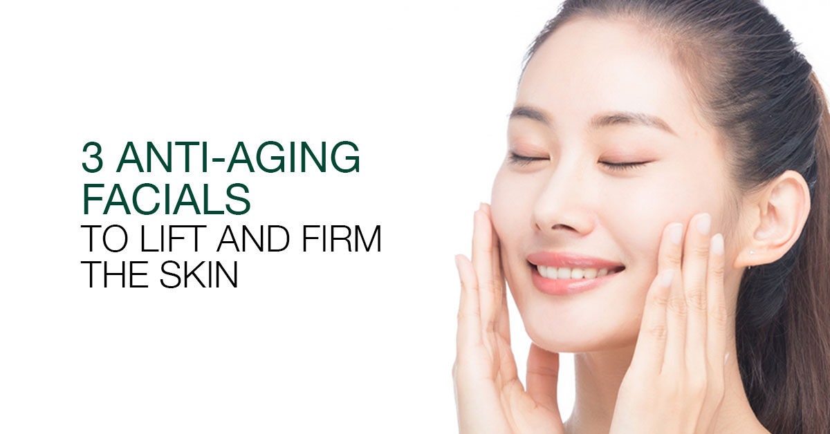 Anti-Ageing, Your skin needs more help than an at-home facial to get it looking fresh and feeling firm again.